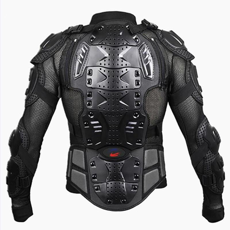 UPBIKE Motorcycle Armor Protection Motocross Clothing Protector Motocross Motorbike Jacket Motorcycle Jackets Protective Gear herobiker motorcycle jacket body armor motocross protective gear motocross off road racing vest moto armor vest black and white