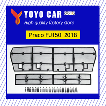 Hot sale Stainless Steel Front Bumper Grille grills Insects Prevention Nets Cover For Prado FJ150 2018