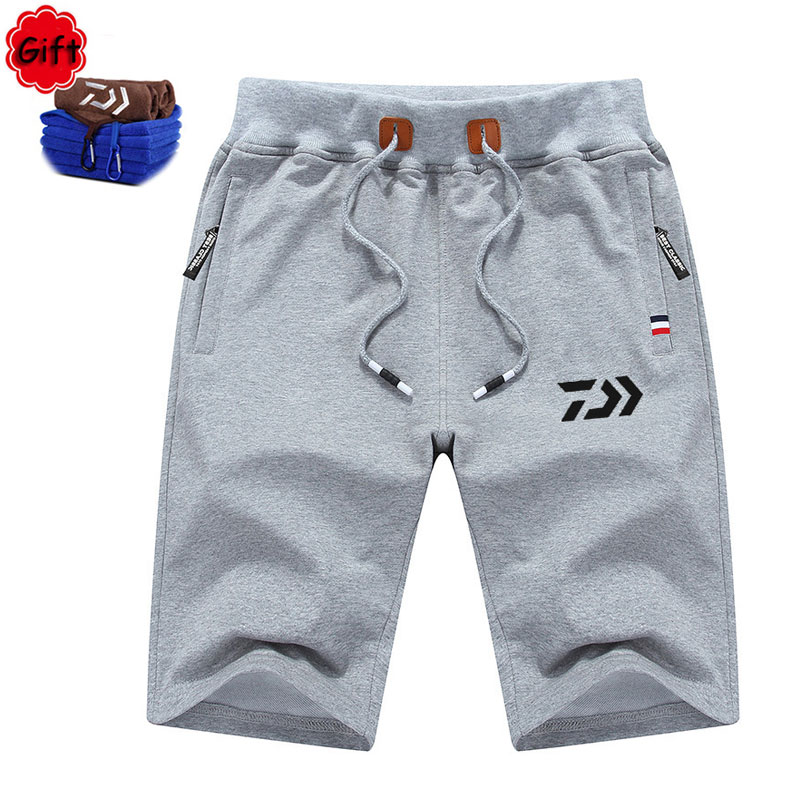 Men Summer Fishing Clothing Outdoor Big Size Hiking Climbing Sports Pants Breathable Sho ...