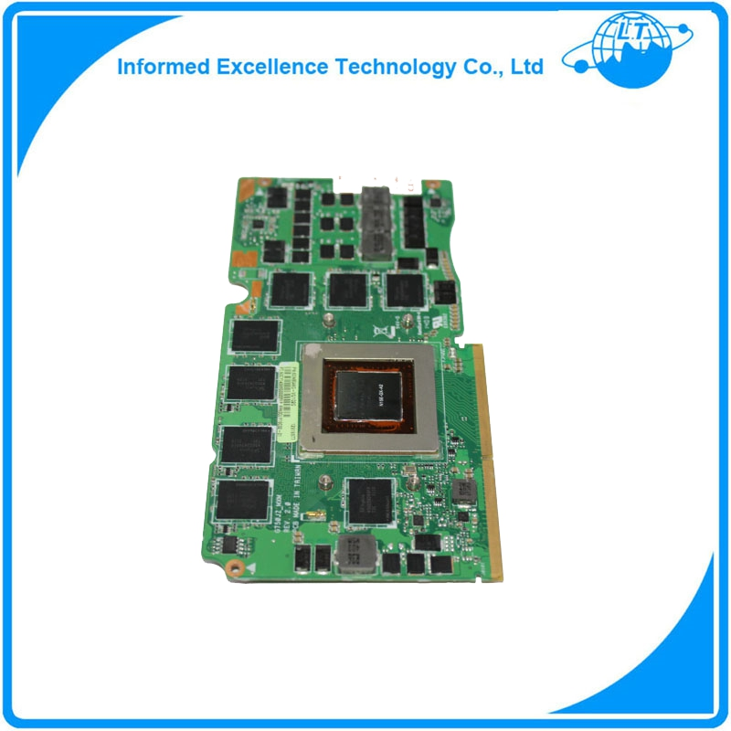 G750JZ Video Card GTX 880M 4GB GDDR5 GPU 60NB04K0-VG1020 69N0QUV10C02-01 for ASUS