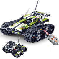 Technic RC TRACKED RACER car Electric Motor Power Function Compatible Legoings city Building Block bricks Toys for Kids Gift