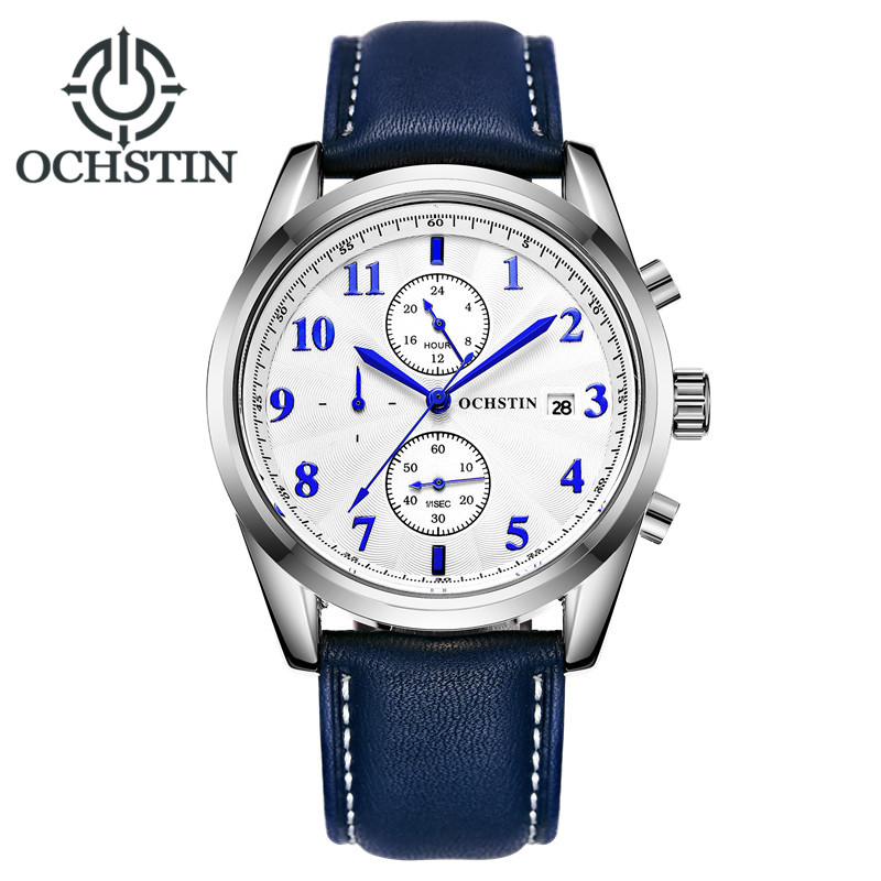 все цены на  2016 OCHSTIN Sport Chronograph Quartz Watch Men Top Brand Luxury Wrist Watches Men Clock Men's Wristwatch Male Relogio Masculino  в интернете