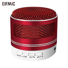 Wholsale ELFMIC wireless bluetooth speaker with radio subwoofer stereo phone car player portable TF card mini metal