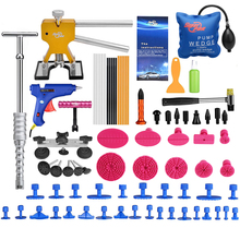 PDR Werkzeuge Für Auto Kit Instrumente Auto Body Repair Kit Dent abzieher Removal Dent Lifter Tool Set Saugnapf Für Auto Dellen