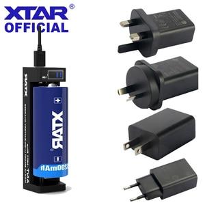 Image 1 - Зарядное устройство XTAR MC1PLUS для аккумуляторов 10400, 14500, 16340, 17355, 17500, 18350, 18490, 18500, 22650, 25500, 22650, 20700, 21700, 18650