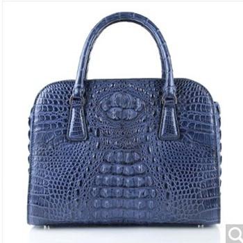 weitasi crocodile Ladies' handbag fashionable large capacity casual slant bag lady bag lady bag lady's shoulder bag 29*19*11