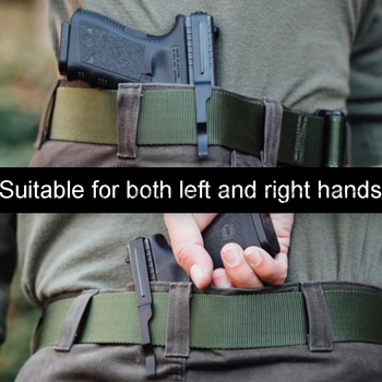 ปืนปกปิดเข็มขัดคลิปสำหรับ Glock สไลด์ Holster Glock 17 19 22 23 24 25 26 27 28 30S 31 32 33 34 35 36 พกพาปืนพกคลิปสไลด์