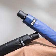 Parachase Automatic Umbrella Rain Women Summer 280T Folding Umbrellas Cool Down Anti UV Ultra-light Clear Sun Umbrella Windproof цены