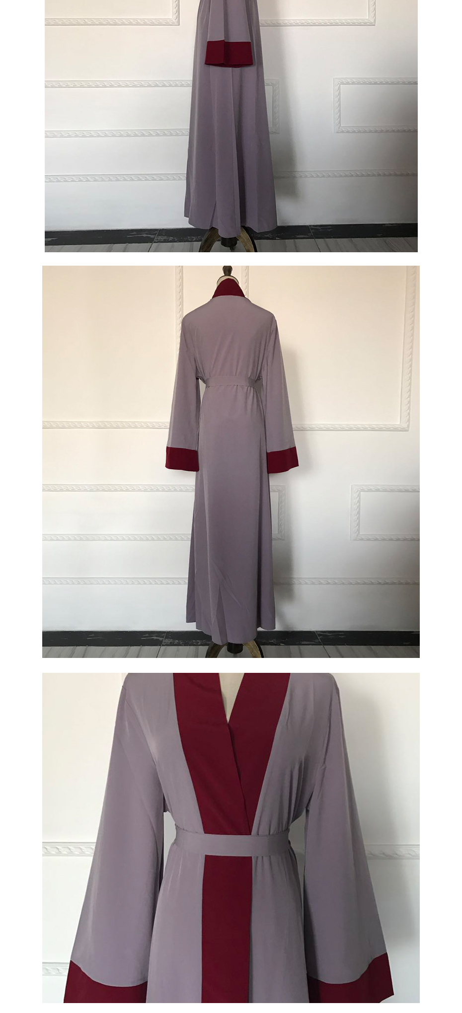 Dubai Middle East Long Robe Plus size