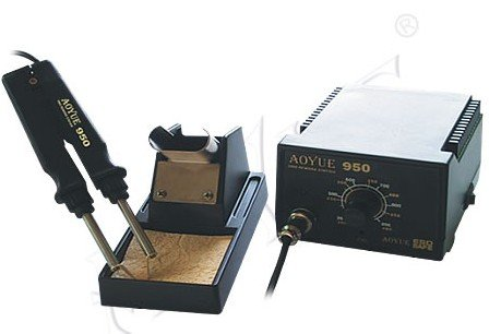 New Arrival Aoyue 950 SMD anti-static Hot Tweezer soldering station