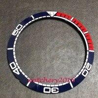 New 39 8mm Two Tone Bezel Insert Watch Kit Fit Automatic Movement Men S Watch Bezel
