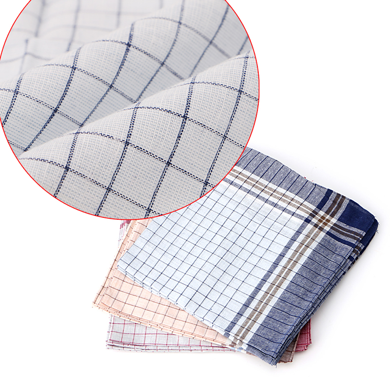 15pcs Mens HANDKERCHIEFS 100% Cotton Pocket Square Hanky Handkerchief 40x40cm