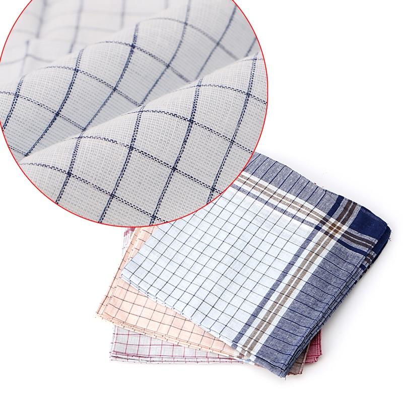 15pcs Mens HANDKERCHIEFS 100% Cotton Pocket Square Hanky Handkerchief 40x40cm