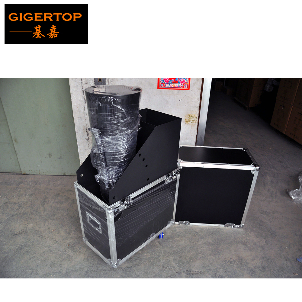 TIPTOP Stage Confetti Machine Co2 Gas Source Manual Hand Control 3 meter Gas Hose Flightcase CO2 Confetti Cannon Machine пенал для ванной aquaton жерона левосторонний белое серебро
