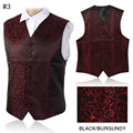 2016 New Arrivel Mens Waistcoats Slim Fit Men Vest Suit Paisley Coletes Chaleco Hombre For Party Wedding
