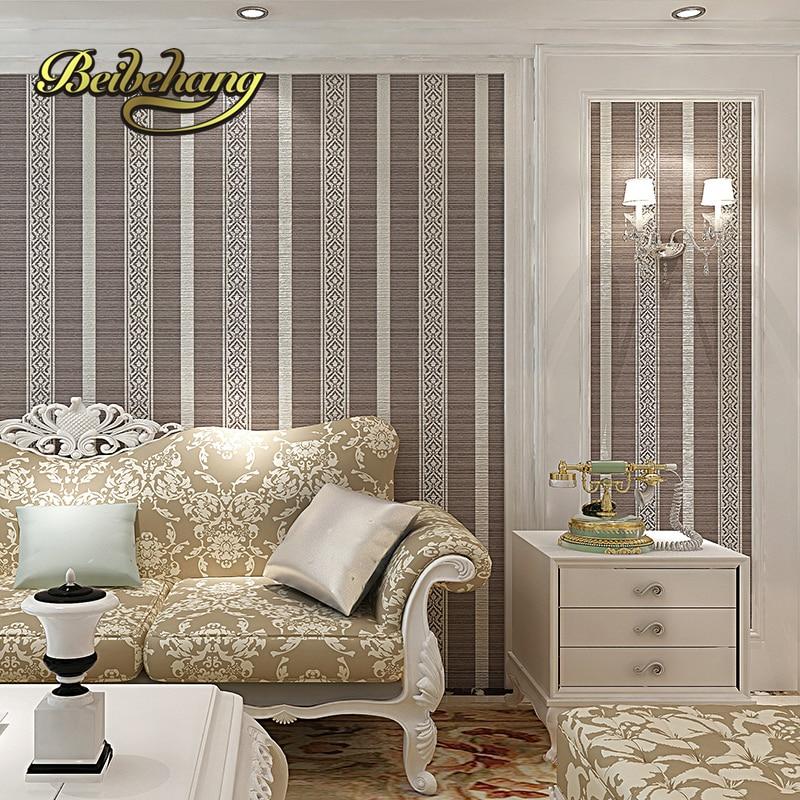 Pintar pasillo a rayas verticales perfect free gallery of - Papel pintado moderno ...