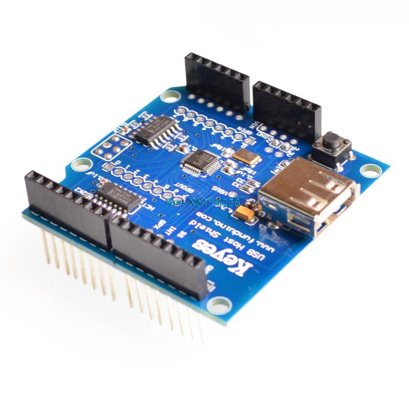 USB Host Shield Support Google Android ADK & UNO MEGA Duemilanove 2560 For