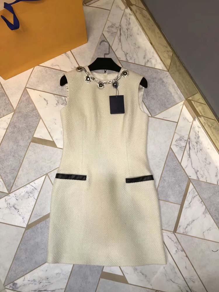 2018 패션 여성 오 넥 민소매 미니 가을 드레스 at180768-에서드레스부터 여성 의류 의  그룹 1