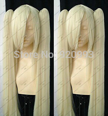 FREE SHIPPING>>> SHIPPING ****@@** NEW Cosplay Platinum Blonde wig + Clip On Ponytails for datalogic falcon x3 lcd screen display with touch screen digitizer assembly complete for 3rd version