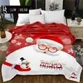SLOWDREAM Weihnachten Flanell Decke Halloween Bett Werfen Herbst Winter Decke Kinder Erwachsene Bettdecke Sofa Covers Quilts