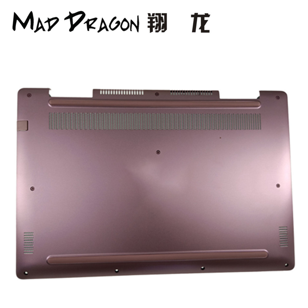 MAD DRAGON Brand Laptop Bottom Base Bottom Cover Assembly for For Dell Inspiron 17 7570 Bottom Base Cover Case 55RM8 055RM8 image