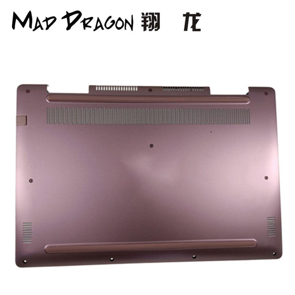 MAD DRAGON marque ordinateur portable Base inférieure couvercle inférieur assemblage pour Dell Inspiron 17 7570 fond couverture étui 55RM8 055RM8