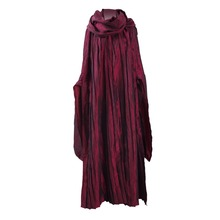 Game of Thrones Melisandre Red Dress cloak Cosplay Costumes Women Dresses Cape Scarf Party Halloween Red Women Uniform
