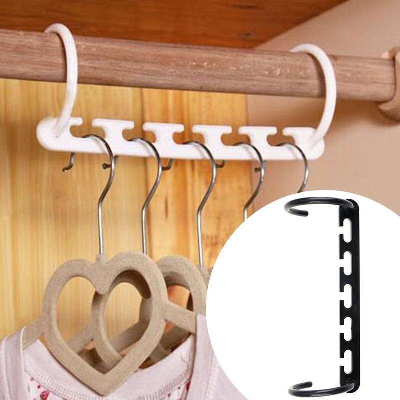 1pcs Multifunctional Space Saving Metal Clothes Hangers