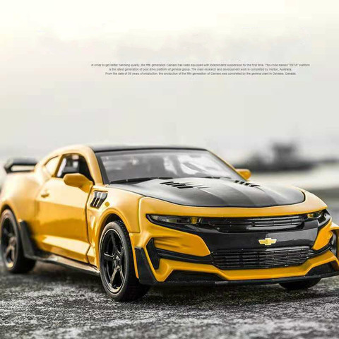 1:32 Hot Alloy Diecast Car Models for Camaro Door Open Super Hornet Juguetes Cars Toys for children kids adult birthday gift Pakistan