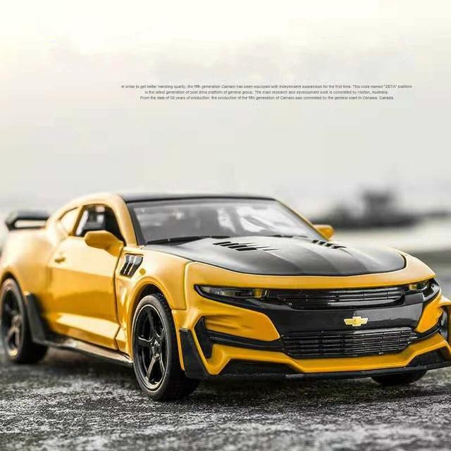 1:32 Hot Alloy Diecast Car Models for Camaro Door Open Super Hornet Juguetes Cars Toys for children kids adult birthday gift