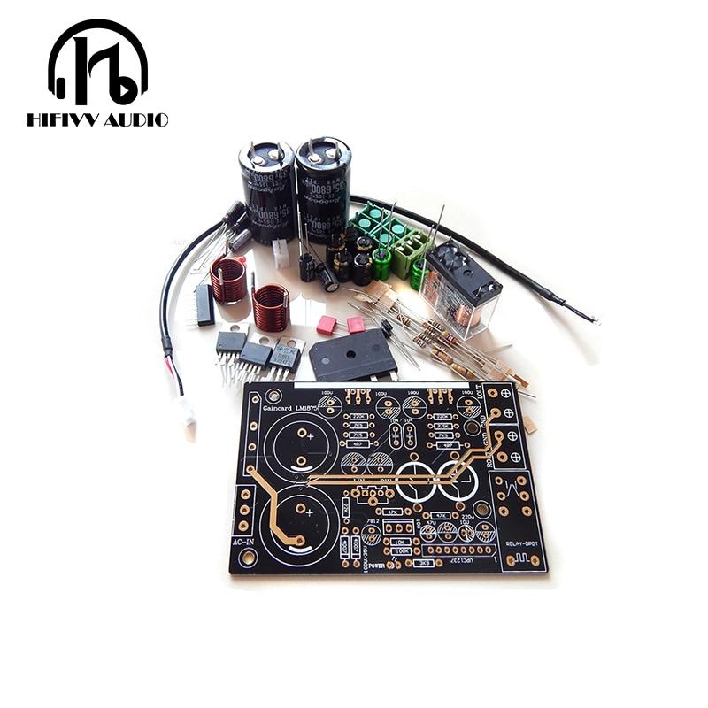 Douk Audio LM1875 Amplifier Stereo HiFi amp Assembled Board Gaincard CG Version