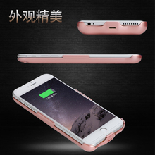 Battery Charger Case External Battery Wireless Charge Case For iPhone6 Back Clip Battery For iphone6 6sPlus
