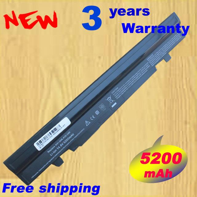 14.8 v 5200 mah nueva batería a42-u36 para asus u32 u36 u44 u46 u40 U56 U36E U36J U36JC U36SD U36SG U82 U82U A42-U36 A41-U36 8 Celular