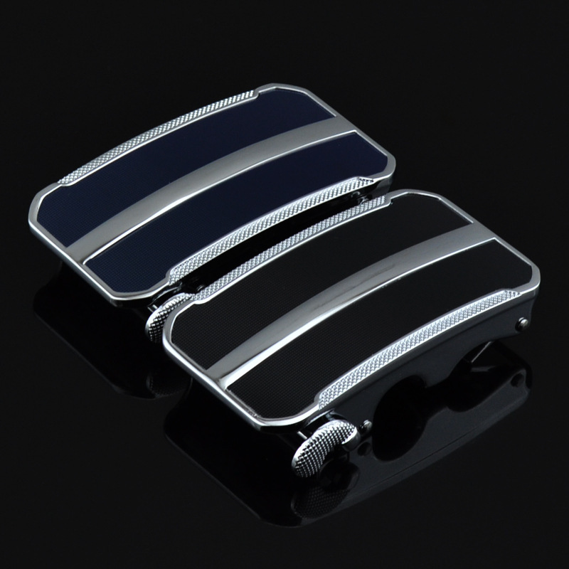 Genuine Men's Belt Head, Belt Buckle, Leisure Belt Head Business Accessories Automatic Buckle Width 3.5CM Luxury LY1111TC-049