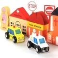 38 unids grandes kits de edificio modelo de madera de los niños educativos juguetes para bebés el mejor regalo para los niños
