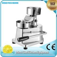 ITOP 100mm 130mm Manual Hamburger Press Burger Forming Machine Round Meat Shaping Aluminum Machine