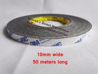 10mm 50M Scotch Double Bonding Adhesive Tape Ribbon For LCD Screen Panel Affix Mounting