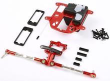 CNC precision machining all-metal symmetrical steering system for ROVAN ROFUN KM HPI BAJA 5B 5T 5SC