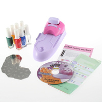 Promotion New Arrival High Quality Nail Art DIY Print Color Polish Printing Machine Free Shipping