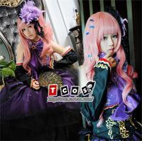 Brdwn Vocaloid Megurine Luka Cosplay Costume Evening Gown Rode Dress