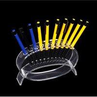Tonvic toptan Kozmetik Fırça Göz Farı Kalem Kalem Ruj Ekran Standı Raf Destek Tutucu Masası Için 18 cm * 12 cm * 3.5 cm