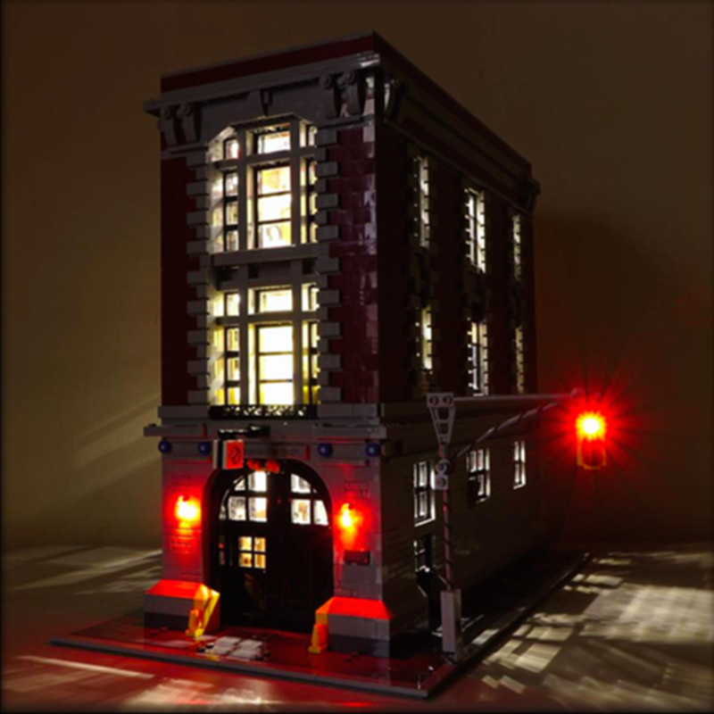 LED Light Kit Ghostbusters Firehouse Headquarters Traffic Lights