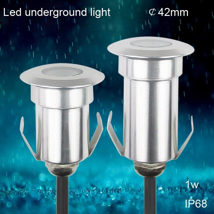 1W led ondergrondse tuinverlichting buiten 12v deklichten spot IP67 - Buitenverlichting