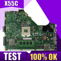 XinKaidi X55C 2GB RAM Mainboard REV 2.2 For ASUS X55C X55VD X55V X55CR Laptop Motherboard SLJ8E HM76 DDR3 100% Tested