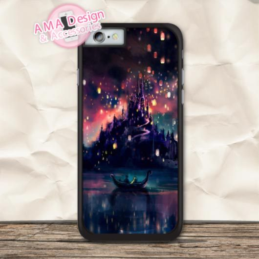 The Love Lake Of Tangled Cover Case For Apple iPhone X 8 7 6 6s Plus 5 5s SE 5c 4 4s For iPod Touch