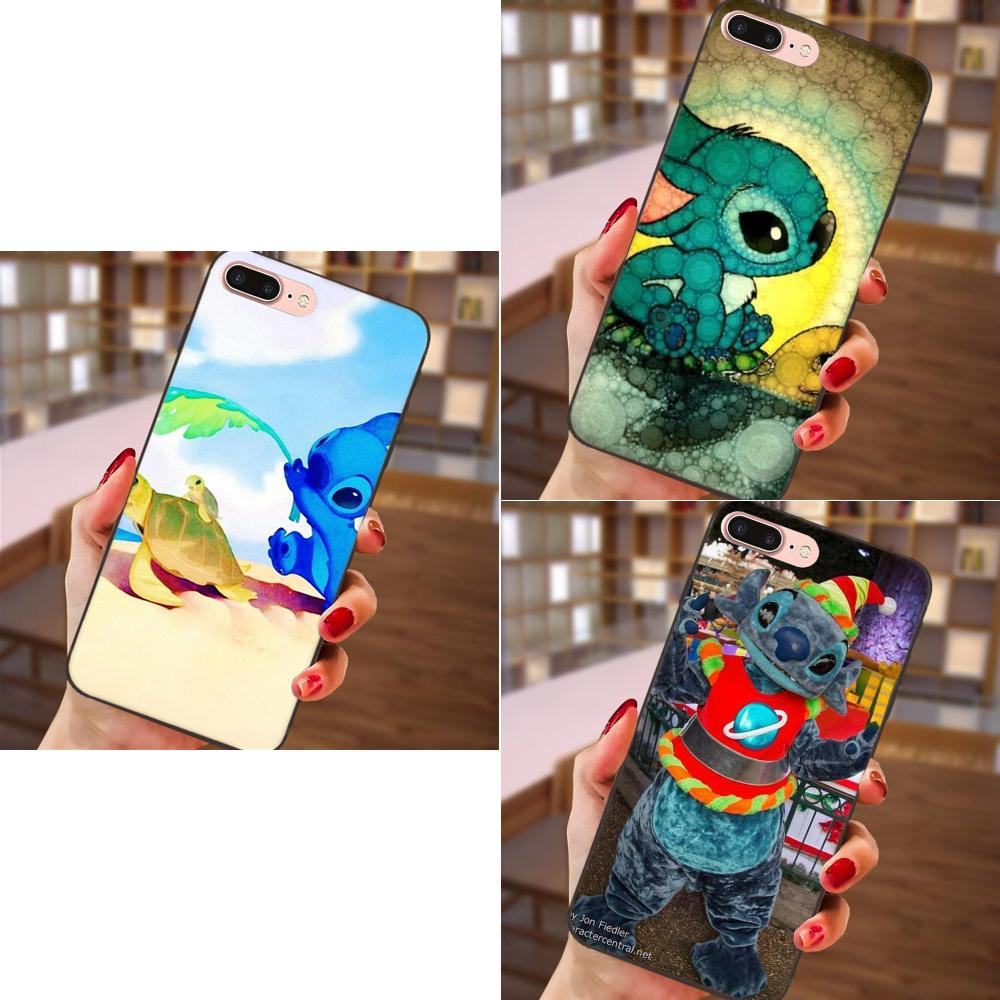 Generous Soft Phone Cases Covers Lilo And Stitch Turtle For Samsung Galaxy A3 A5 A6 A6s A7 A8 A9 Star Plus 2016 2017 2018 Dependable Performance Half-wrapped Case