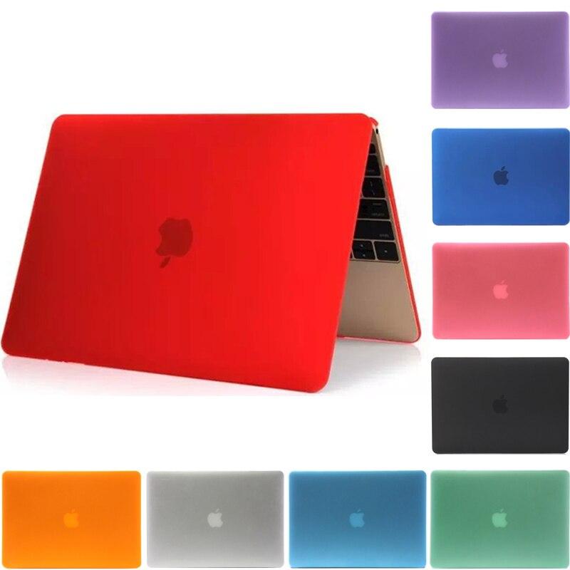 2016 кристалл/Матовый Жесткий чехол Обложка для MacBook 13 15 дюймов Pro Retina 13 ''15'' С Touch Bar A1706 A1707 A1708