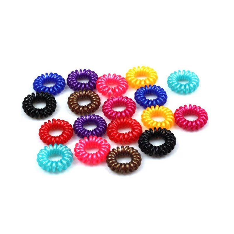30Pcs Candy Color Hair Accessories For Women Gum Girls Hair Ties Traceless Telephone Line Elastic Rope Rubber Ring Hair Holder lefard кружка elisabeth 500 мл