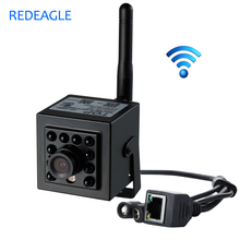 REDEAGLE 720P P2P IP Camera WiFi Wireless CCTV Network Recording Camera With 940nm IR Invisible Night Vision Memory SD Card Slot