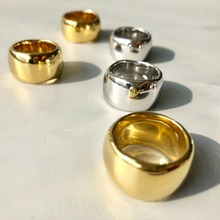 Cold Metal Wind Copper Ring White & Golden 2 Color bague anillos mujer anel aneis anelli Charm ring bisuteria anel feminino цена
